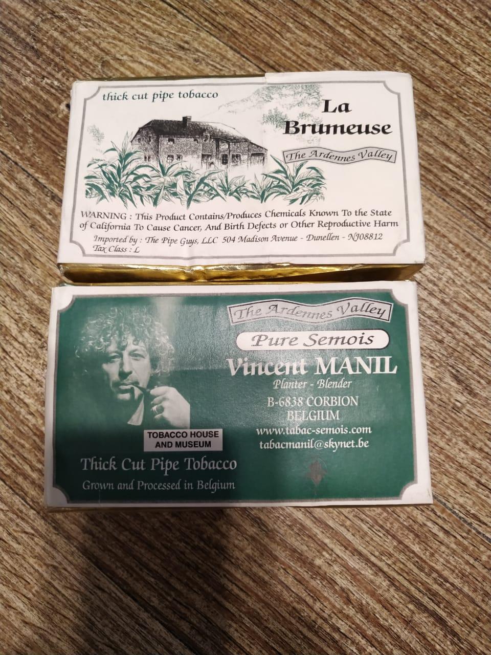 Tabac Manil - La Brumeuse (Pure Semois) - 100g