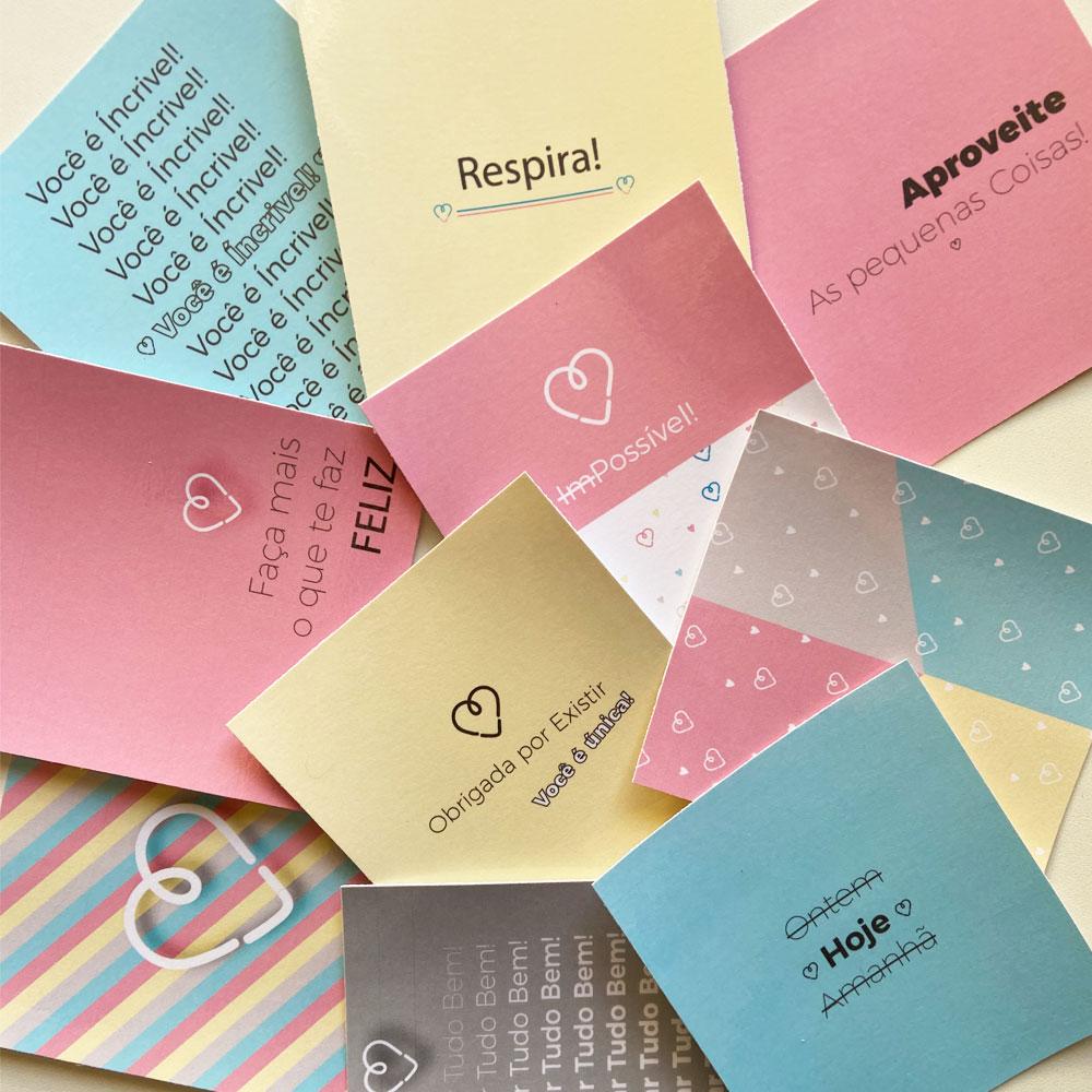 Kit de Cartões Fofos! (10 unidades)