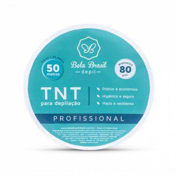 TNT papel para depilacao 80g 50m