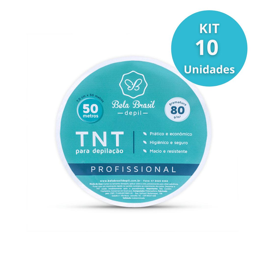 Kit com 10 Rolos de TNT - 80g