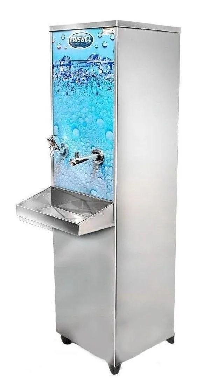 Bebedouro De Água Frisbel Coluna 25l Aço Inoxidável 22