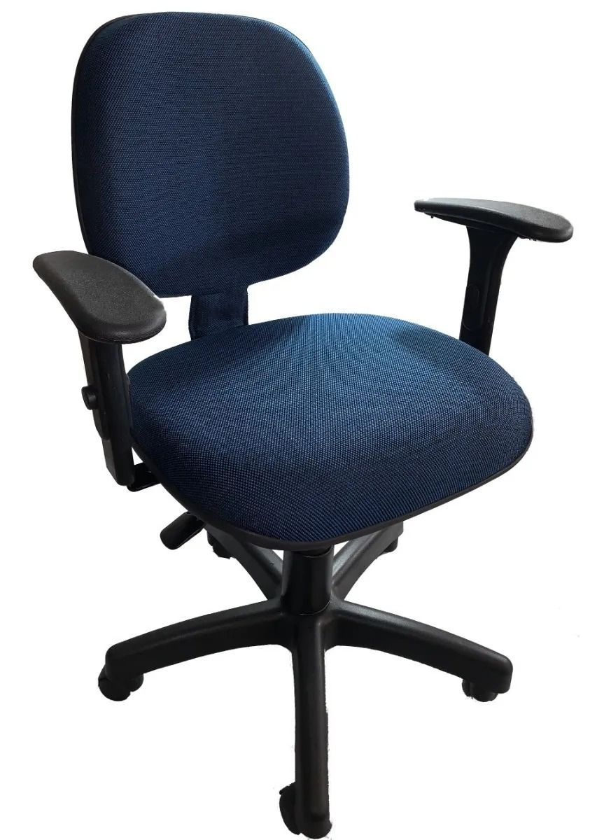 Cadeira Escritório C/Lamina Digitador C/Braços