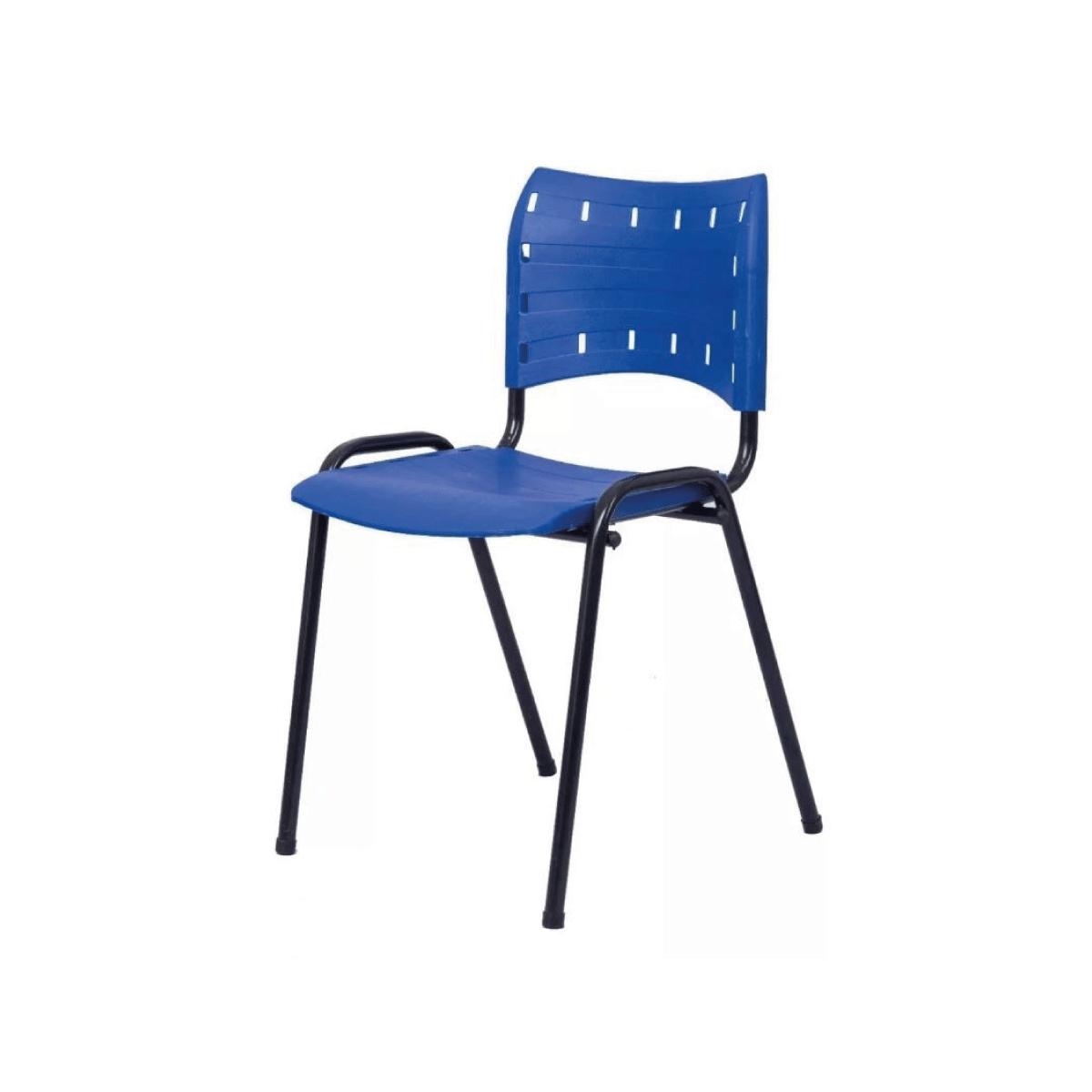 Cadeira Iso Plástica Compact  Escritório Empilhável