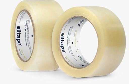 Fita Adesiva Transparente 45mmx100m 10 Rolos Para Embalagens