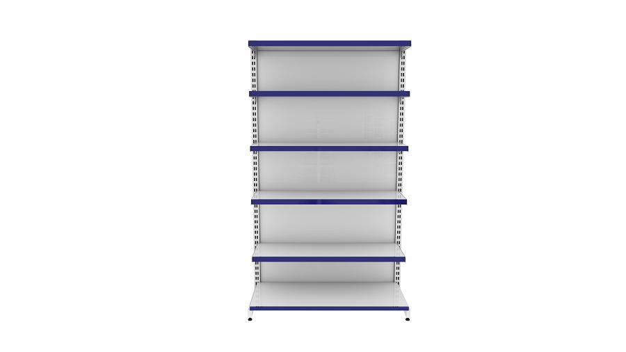 Gôndolas de Parede 1 Inicial+3 Cont. +1 Canto 2 m (C/F)