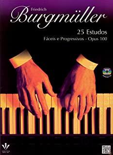 25 Estudos - Op. 100 ( Edição Com Cd )