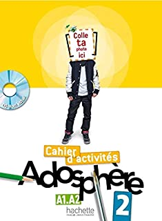 Adosphere 2 A1.2-A2 - Cahier D?Activites Cd-Rom