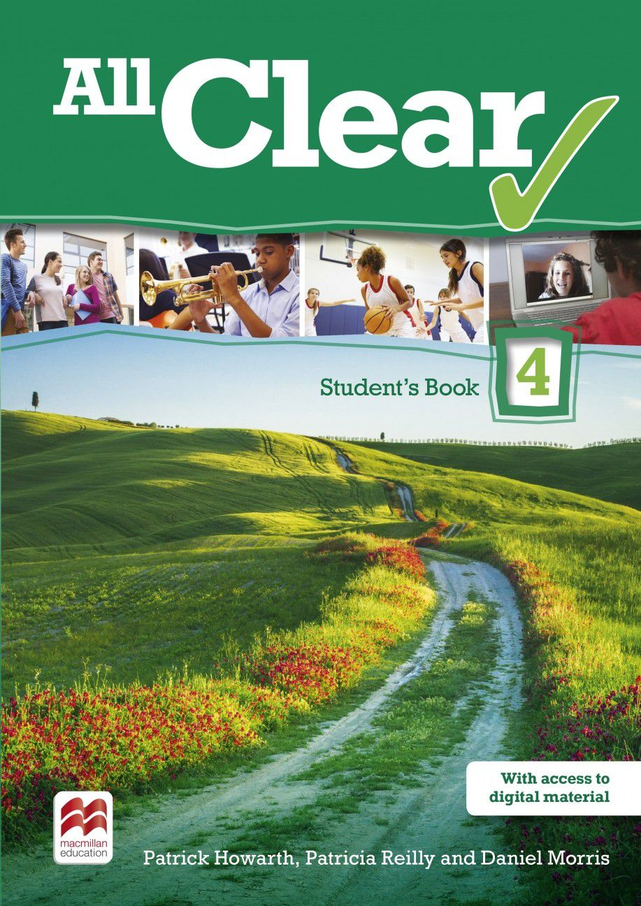 ALL CLEAR STUDENTS BOOK WITH WORKBOOK PACK-4 (EDIC