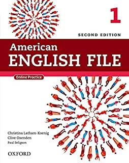 American English File 1: Student Book With Online