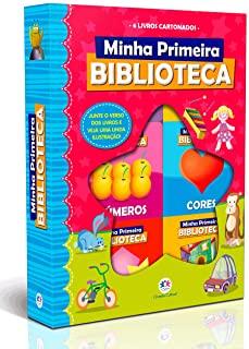 Box Com Janela Minha Primeira Biblioteca: Com 6 Li