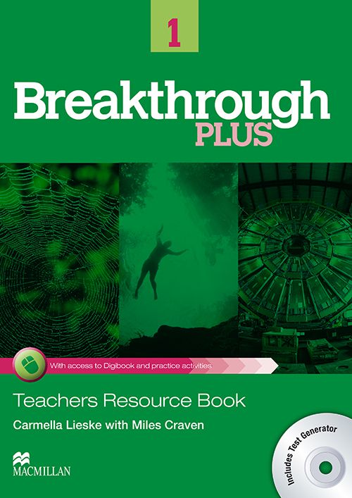 BREAKTHROUGH PLUS 1 - TB WITH DIGIBOOK CODE AND TR