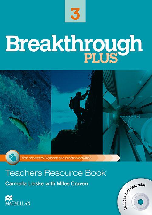 BREAKTHROUGH PLUS 3 TEACHERS BOOK WITH TEST GENERE