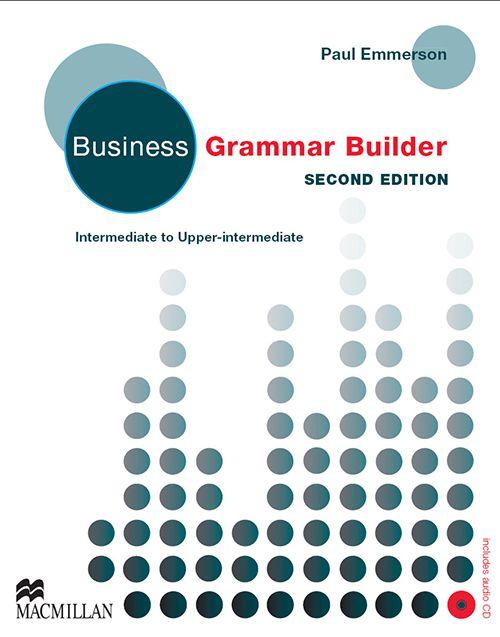 BUSINESS GRAMMAR BUILDER WITH AUDIO CD - NEW EDITN