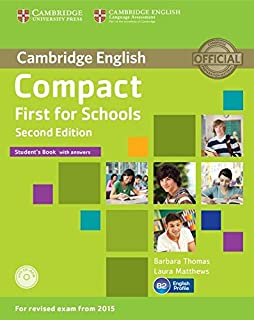Compact First For Schools Sb With Cd-Rom - 2Nd Ed