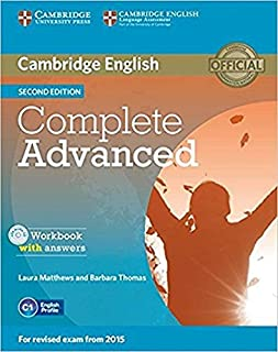 Complete Advanced Workbook With Answers With Audid