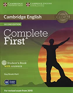 Complete First - Sb With Answer With Cd-Rom - 2Ndd