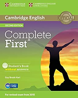 Complete First - Sb Without Answers With Cd-Rom