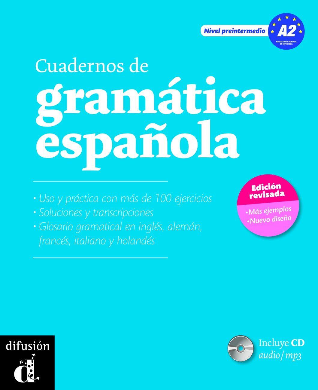 CUADERNOS DE GRAMATICA ESPANOLA A2 + CD