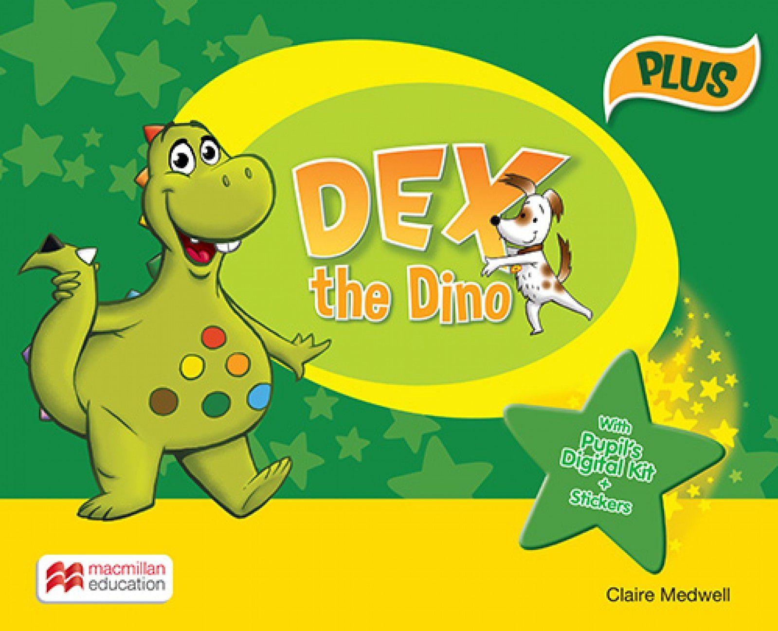 DEX THE DINO PUPIL´S BOOK PACK PLUS - BRITISH ENGL