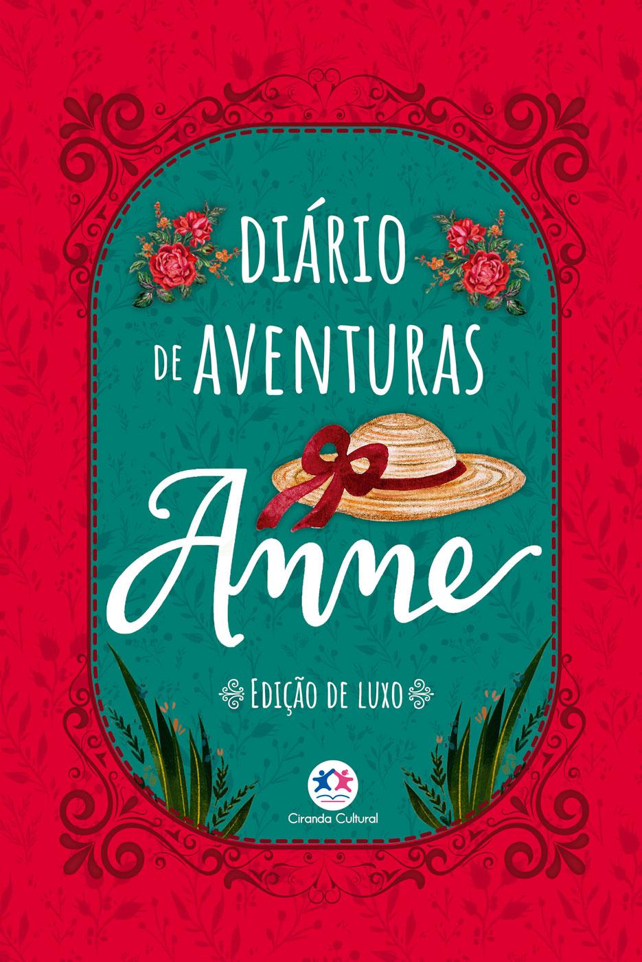 Diário De Aventuras Anne - Edição De Luxo
