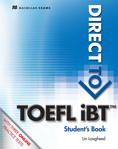 DIRECT TO TOEFL IBT STUDENTS BOOK WITH WEBCODE