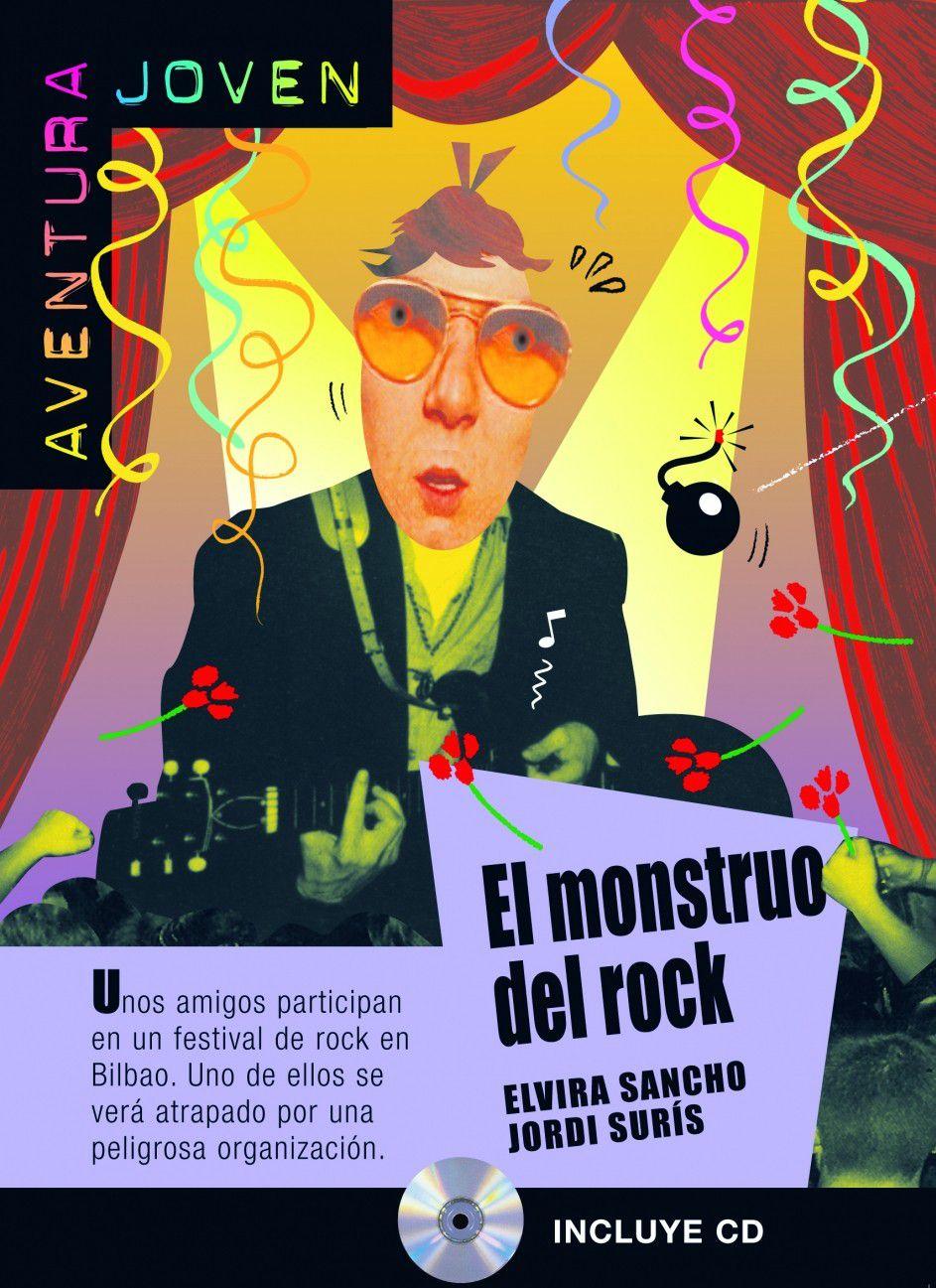 EL MONSTRUO DEL ROCK - AVENTURA JOVEN - NIVEL A1/A