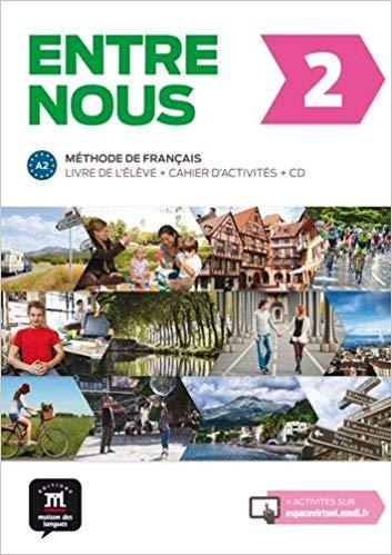ENTRE NOUS LIVRE DE LÉLÈVE + CD + CAHIER DACTIVITÉS-2-A2