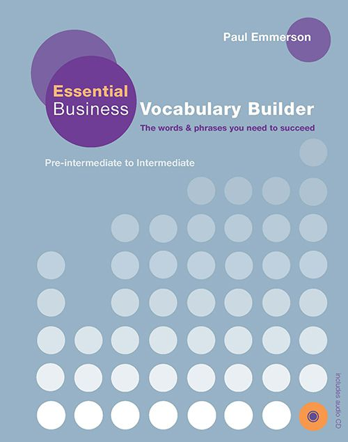ESSENTIAL BUSINESS VOCABULARY BUILDER STUDENTS BOO