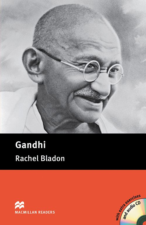 GANDHI - WITH  AUDIO CD INCLUDED