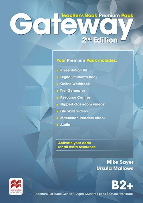 GATEWAY 2ND EDITION B2+ TEACHERS BOOK PREMIUM PACK