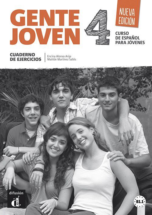 GENTE JOVEN 4 - N/E - CUADERNO DE EJERCICIOS B1+