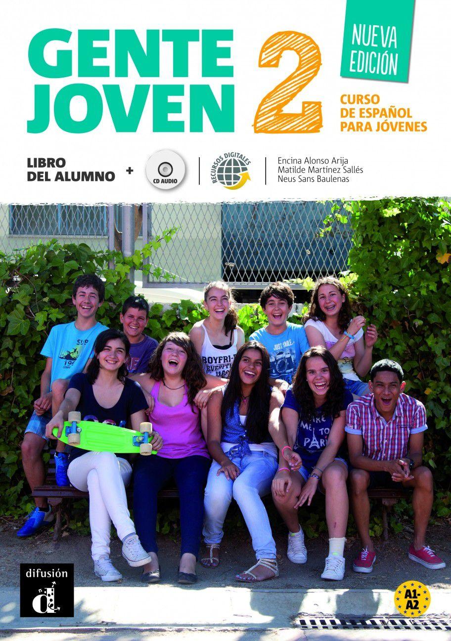 GENTE JOVEN - N/E - LIBRO DEL ALUMNO 2 - A1-A2