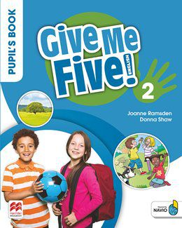 GIVE ME FIVE! PUPILS BOOK PACK-2