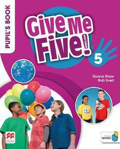 GIVE ME FIVE! PUPILS BOOK PACK W/ACTIVITY BOOK-5