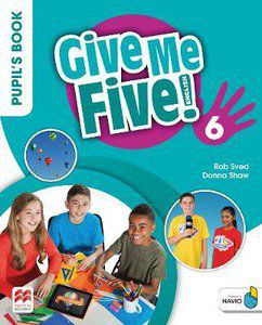 GIVE ME FIVE! PUPILS BOOK PACK W/ACTIVITY BOOK-6