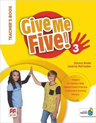 GIVE ME FIVE! TEACHERS BOOK PACK-3