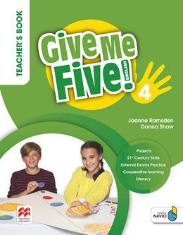 GIVE ME FIVE! TEACHERS BOOK PACK-4
