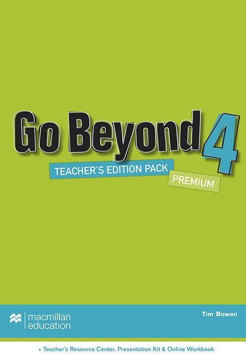 GO BEYOND TEACHERS BOOK PREMIUM PACK-4