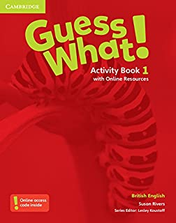 Guess What 1 Activity Book With Online Resources H