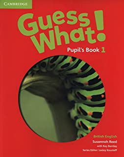 Guess What 1 Pupils Book - British