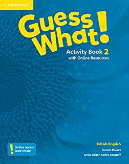 Guess What 2 Activity Book With Online Resources H