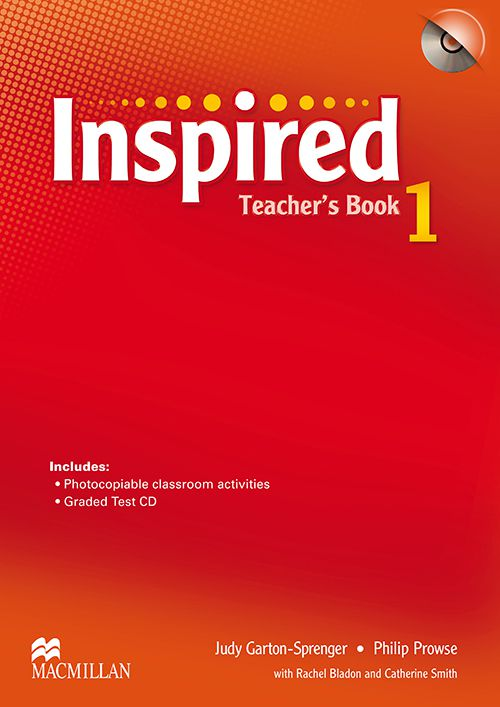 INSPIRED 1 TEACHERS BOOK WITH TEST CD