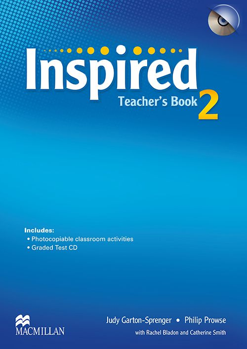 INSPIRED 2 TEACHERS BOOK WITH TEST CD