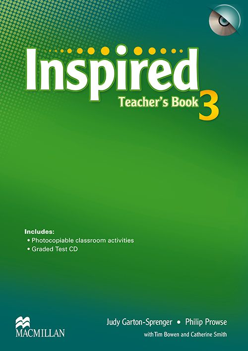 INSPIRED 3 TEACHERS BOOK WITH TEST CD
