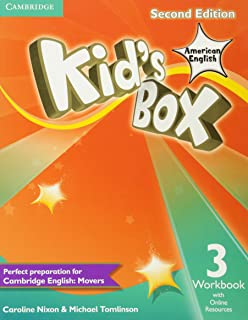 Kids Box 3 Wb With Online Resources - 2Nd Ed - Amn
