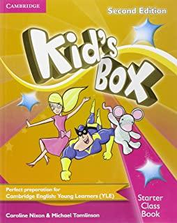 Kids Box  Starter Class Book With Cd-Rom -  2Nd Ed