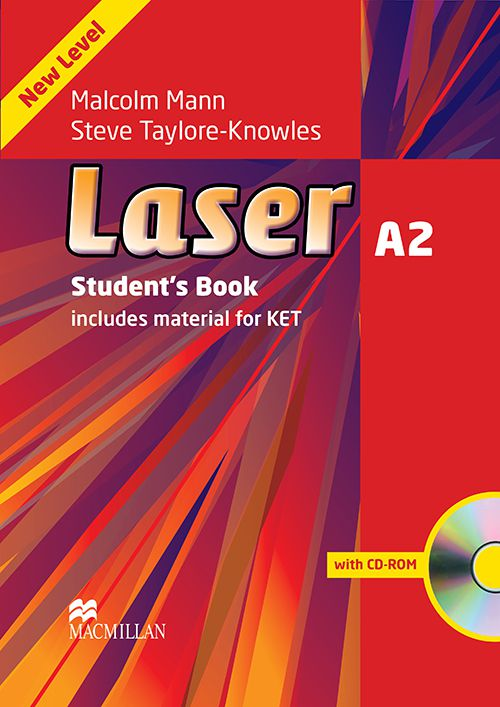 LASER A2 - STUDENTS BOOK WITH CD-ROM - NEW EDITION