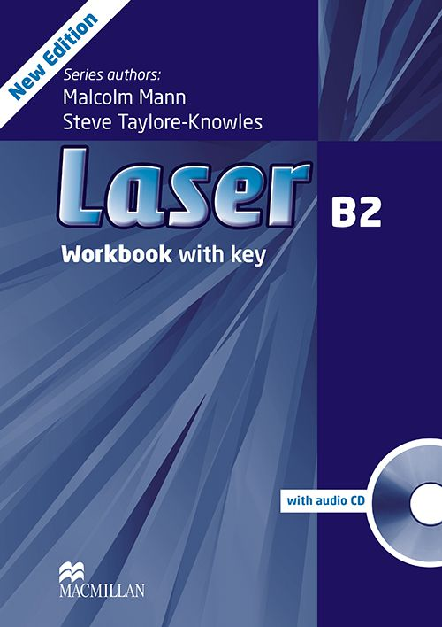LASER B2 WB WITH KEY AND AUDIO CD - 3RD ED