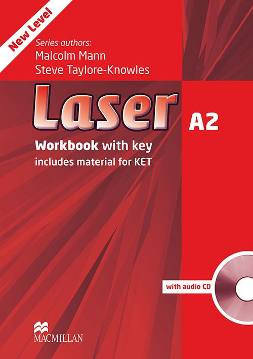 LASER WORKBOOK WITH AUDIO CD-A2 (W/KEY)