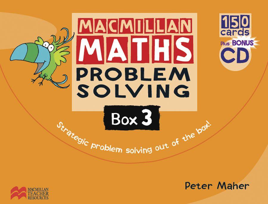 MACMILLAN MATHS PROBLEM SOLVING BOX YEAR-3
